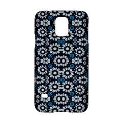 Floral Print Seamless Pattern in Cold Tones  Samsung Galaxy S5 Hardshell Case