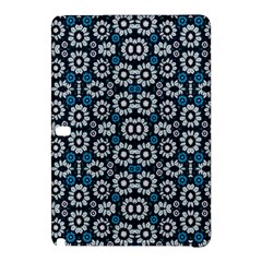 Floral Print Seamless Pattern in Cold Tones  Samsung Galaxy Tab Pro 10.1 Hardshell Case