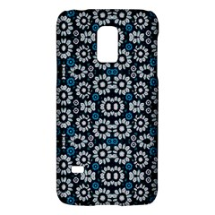 Floral Print Seamless Pattern In Cold Tones  Samsung Galaxy S5 Mini Hardshell Case