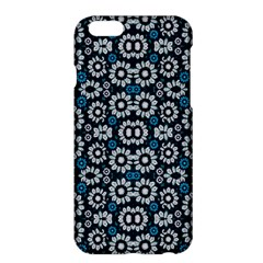 Floral Print Seamless Pattern in Cold Tones  Apple iPhone 6 Plus Hardshell Case