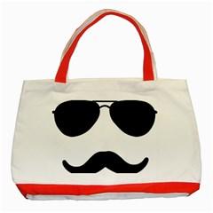 Aviators Tache Classic Tote Bag (red)