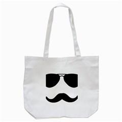 Aviators Tache Tote Bag (white)