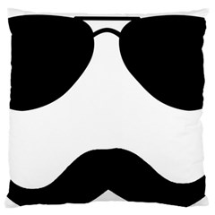 Aviators Tache Standard Flano Cushion Case (Two Sides)
