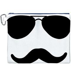 Aviators Tache Canvas Cosmetic Bag (XXXL)