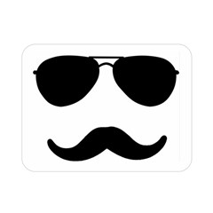 Aviators Tache Double Sided Flano Blanket (Mini)