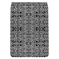 Cyberpunk Silver Print Pattern  Removable Flap Cover (small)