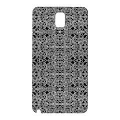Cyberpunk Silver Print Pattern  Samsung Galaxy Note 3 N9005 Hardshell Back Case