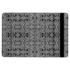 Cyberpunk Silver Print Pattern  Apple iPad Air Flip Case
