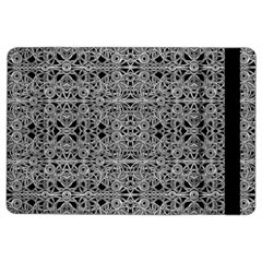 Cyberpunk Silver Print Pattern  Apple Ipad Air 2 Flip Case