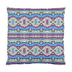 Aztec Style Pattern In Pastel Colors Cushion Case (two Sided)