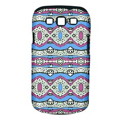 Aztec Style Pattern In Pastel Colors Samsung Galaxy S Iii Classic Hardshell Case (pc+silicone)