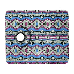 Aztec Style Pattern In Pastel Colors Samsung Galaxy S  Iii Flip 360 Case