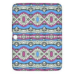 Aztec Style Pattern In Pastel Colors Samsung Galaxy Tab 3 (10 1 ) P5200 Hardshell Case