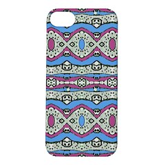 Aztec Style Pattern In Pastel Colors Apple Iphone 5s Hardshell Case