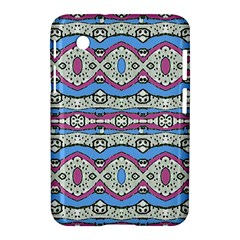 Aztec Style Pattern In Pastel Colors Samsung Galaxy Tab 2 (7 ) P3100 Hardshell Case