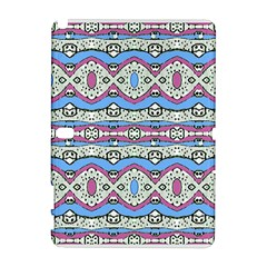 Aztec Style Pattern in Pastel Colors Samsung Galaxy Note 10.1 (P600) Hardshell Case