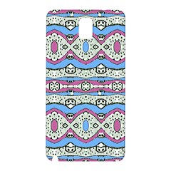 Aztec Style Pattern in Pastel Colors Samsung Galaxy Note 3 N9005 Hardshell Back Case