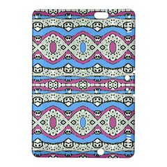 Aztec Style Pattern in Pastel Colors Kindle Fire HDX 8.9  Hardshell Case
