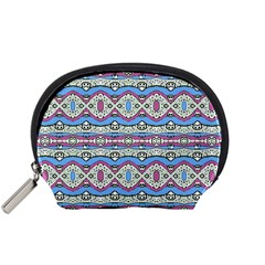 Aztec Style Pattern in Pastel Colors Accessory Pouch (Small)