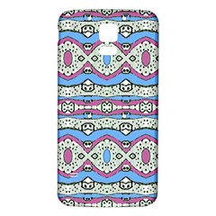Aztec Style Pattern In Pastel Colors Samsung Galaxy S5 Back Case (white)