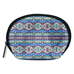 Aztec Style Pattern in Pastel Colors Accessory Pouch (Medium)