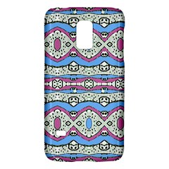 Aztec Style Pattern In Pastel Colors Samsung Galaxy S5 Mini Hardshell Case