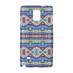 Aztec Style Pattern In Pastel Colors Samsung Galaxy Note 4 Hardshell Case