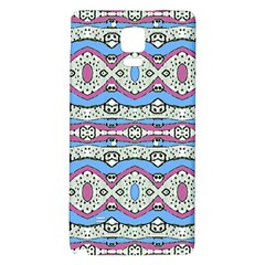 Aztec Style Pattern in Pastel Colors Samsung Note 4 Hardshell Back Case