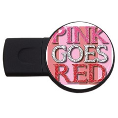 Image 2gb Usb Flash Drive (round)
