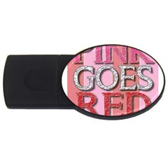 Image 4gb Usb Flash Drive (oval)