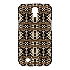 Geometric Tribal Style Pattern In Brown Colors Scarf Samsung Galaxy Mega 6 3  I9200 Hardshell Case