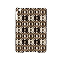 Geometric Tribal Style Pattern in Brown Colors Scarf Apple iPad Mini 2 Hardshell Case