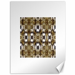 Baroque Ornament Pattern Print Canvas 36  X 48  (unframed)