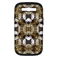 Baroque Ornament Pattern Print Samsung Galaxy S Iii Hardshell Case (pc+silicone)