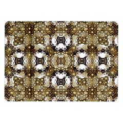 Baroque Ornament Pattern Print Samsung Galaxy Tab 10.1  P7500 Flip Case