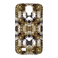 Baroque Ornament Pattern Print Samsung Galaxy S4 Classic Hardshell Case (pc+silicone)