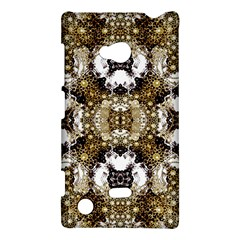 Baroque Ornament Pattern Print Nokia Lumia 720 Hardshell Case