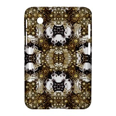 Baroque Ornament Pattern Print Samsung Galaxy Tab 2 (7 ) P3100 Hardshell Case