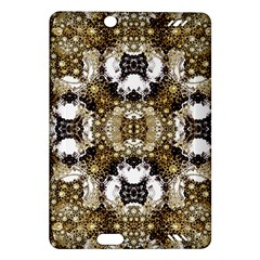 Baroque Ornament Pattern Print Kindle Fire HD (2013) Hardshell Case