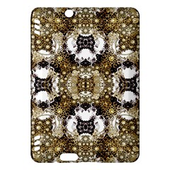 Baroque Ornament Pattern Print Kindle Fire HDX Hardshell Case