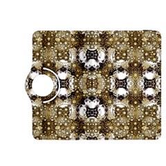 Baroque Ornament Pattern Print Kindle Fire HDX 8.9  Flip 360 Case