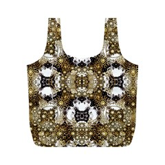 Baroque Ornament Pattern Print Reusable Bag (M)