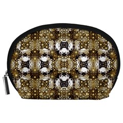 Baroque Ornament Pattern Print Accessory Pouch (large)