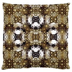 Baroque Ornament Pattern Print Large Flano Cushion Case (two Sides)