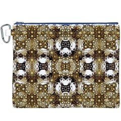 Baroque Ornament Pattern Print Canvas Cosmetic Bag (XXXL)