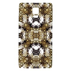 Baroque Ornament Pattern Print Samsung Note 4 Hardshell Back Case