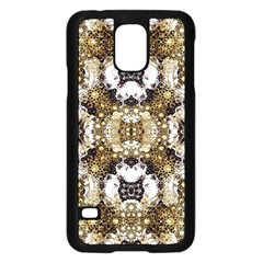Futuristic Grid Pattern Design Print Samsung Galaxy S5 Case (Black)