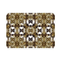 Futuristic Grid Pattern Design Print Double Sided Flano Blanket (Mini)