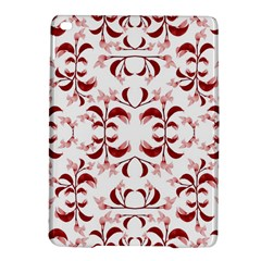 Floral Print Modern Pattern in Red and White Tones Apple iPad Air 2 Hardshell Case