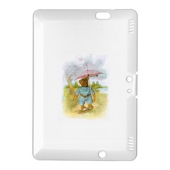 Vintage Drawing: Teddy Bear in the Rain Kindle Fire HDX 8.9  Hardshell Case